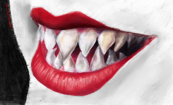 Sharp Teeth by Ireneaa