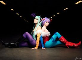 Morrigan x Lilith Cosplay 2 by SNTP