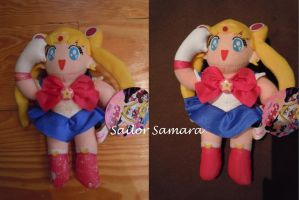 Sailor Moon R Banpresto Plush Repair by SailorSamara