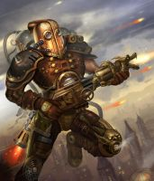 Folko Streese Oo Steampunk Warrior by Folko-S