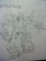 DOTM megatron. I Went down TWICE but here I AM by amazerbeta