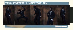 TF2: Meet the Anthrocon Spy_2 by KitKiama