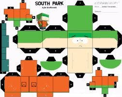 South Park Kyle Cubee Template by jordof131