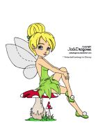 TinkerBell Colored by Maiko-Girl