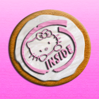 Hello Kitty Cookie by EvilCatArts