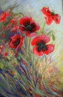 POPPIES-2 by Hydrangeas