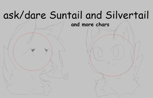 Ask Suntail and Silver and more chars by crystalwolfahlpa50