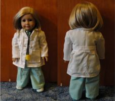 American Girl doctors outfit by agent53310761