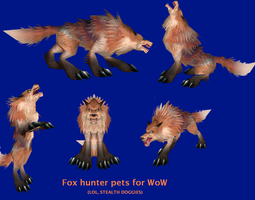 Foxes? On WoW? Oh mai by sweetietweety111