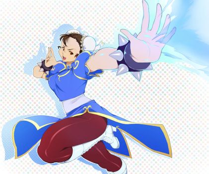 Chun Li by 4hoursleep