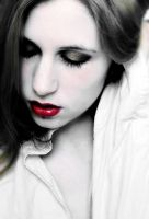 The red lips by Sinned-angel-stock