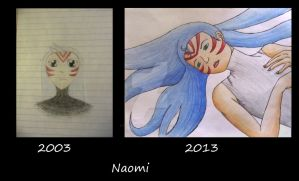 Naomi 2003-2013 by SakuraSetsuna