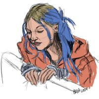 Eternal Sunshine - Clementine by mutedglow