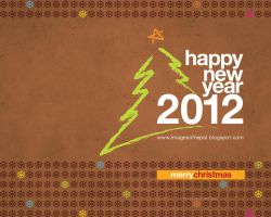 Happy New Year 2012 wallpaper by lalitkala
