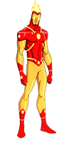 DC:New Earth Firestorm Animated by kyomusha