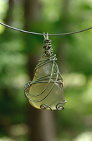 translucent wire wrapped stone by exoplastic