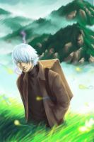 Mushishi: Ginko by Oniwolf12