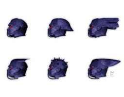 Old Style Coalition Helmets by MADMANMIKE