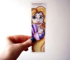 Rapunzel Bookmark by Sacari