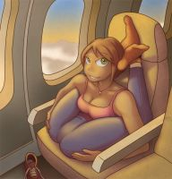 I Go Jet Airliner by twistgee