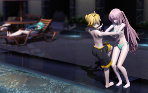 mmd request 7 by dreamydark