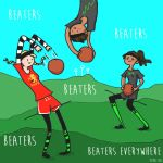Quidditch Beaters by madperson42