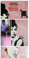 Breakfast at Tiffany's - Stencil on Canvas Process by byCavalera