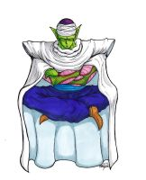 Piccolo Meditation (hand-coloured) by shadesoflove