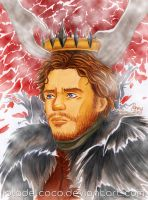 King in the North by IslaDelCoco