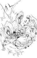 Cadillacs and Dinosaurs_HD by thekidKaos