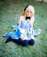 Lucy and Happy - Fairy Tail cosplay by amikoRoyAi