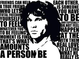 Jim morrison quote by splattedlotus