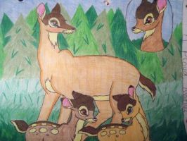 Bambi's Family by Shelby100