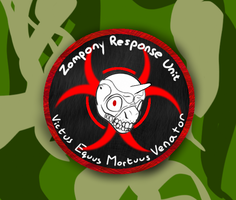 zompony Response Unit Patch Concept art by ScrwLoose