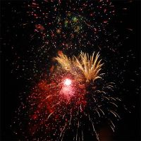 Fire works by mickael-bedier