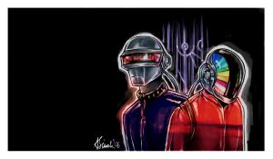 Daft Punk by Luna-89