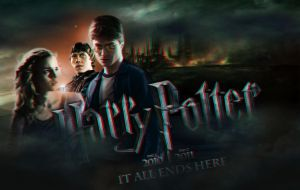 Harry Potter poster in 3D by Hardgamerpt