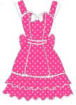 Pink Polka Dot JSK by oOstormysoulOo