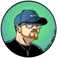 Older Self Caricature (2001) by Car2nst