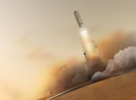 Nuclear SSTO Launch by William-Black