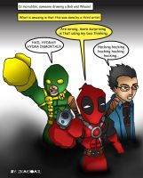 Deadpool_Friends by zkacoatl