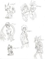 free sketches by LimeInDaCoconut