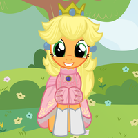 Applejack's New Dress by Beavernator