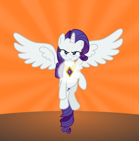 Princess Rarity by punzil504