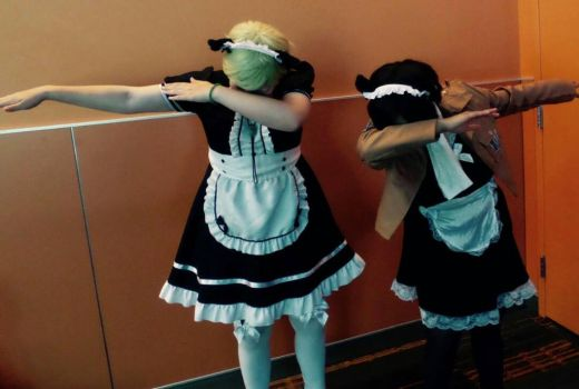 Maid!Erwin and Maid!Levi hit the Dab... by 4lwaysdreaming
