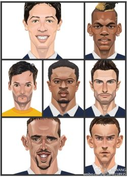 2014 FIFA World Cup players3 by A-BB