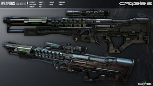 Gauss Rifle  +Crysis 2+ by Seargent-Demolisher