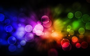 bokeh wallpaper color by femfoyou