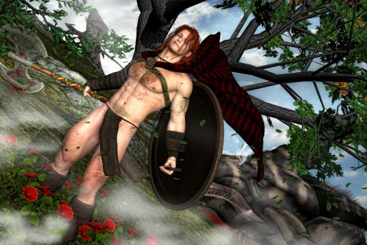 Hadrien the Celt by Biako06