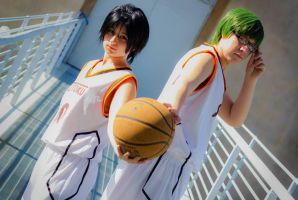 Midorima and Takao 02 by HellDolly